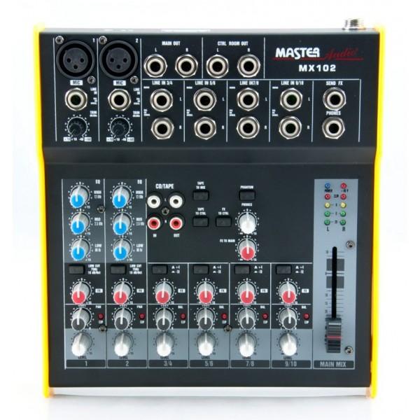 Master Audio Mx102 Αναλογικός Μίκτης