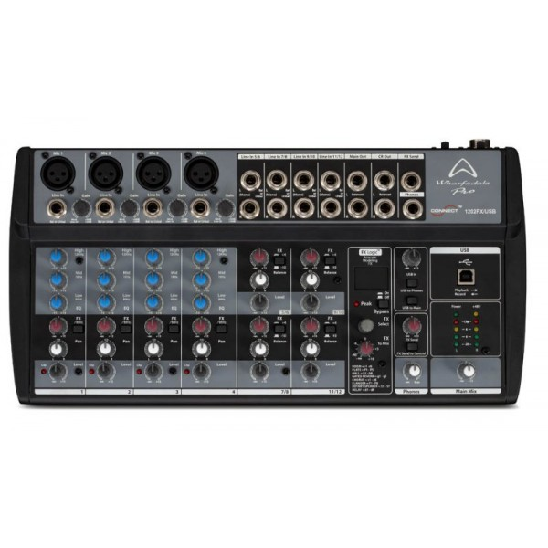 Wharfedale Pro Connect 1202Fx Usb Αναλογικός Μίκτης Και Audio Interface