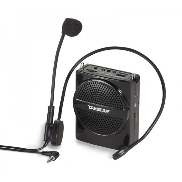 Takstar E188M Φορητό Σύστημα Μικροφώνου Με Ενισχυτή & Usb Player