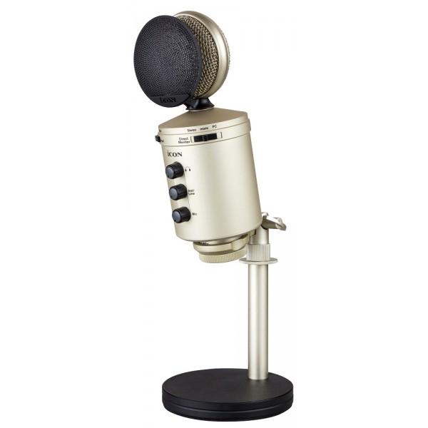 iCON U24 USB recording microphone
